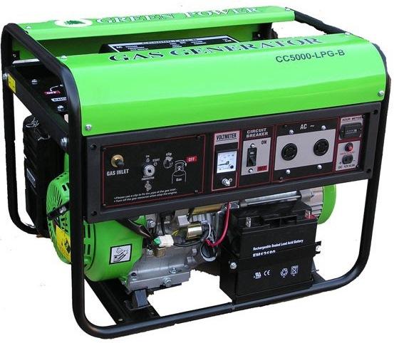 موتور برق CC5000NG گازسوز