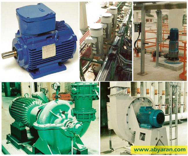انواع موتورهای الکتریکی و کاربرد آن در صنعت