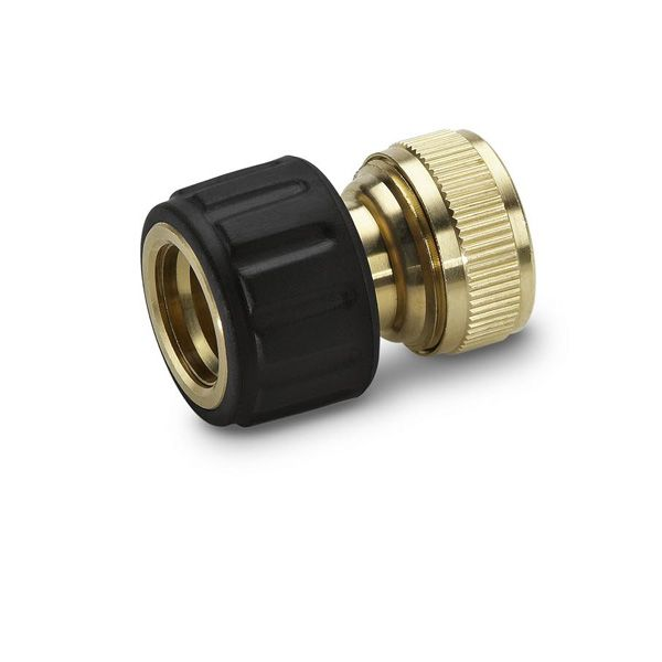 "Watering range Brass hose connector 1/2"" and 5/8"""