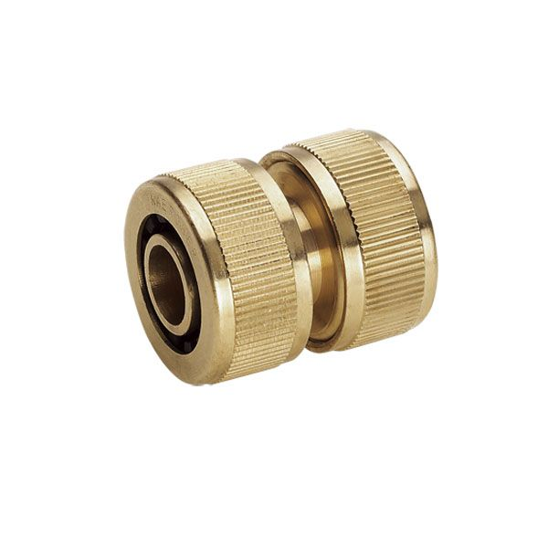 Watering range Brass hose repair connector 3/4""