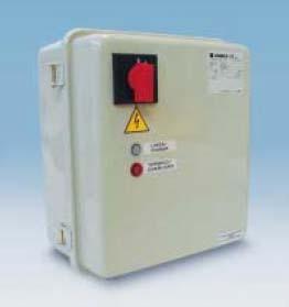 تابلو کنترل ها جهت الکترو پمپ های شناور مارک Lowara