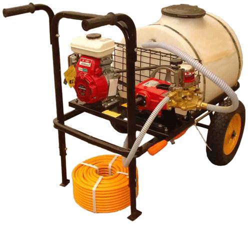 انواع سمپاش موتور چرخدار